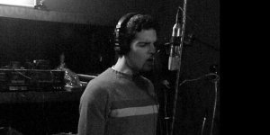 pat recording vocals